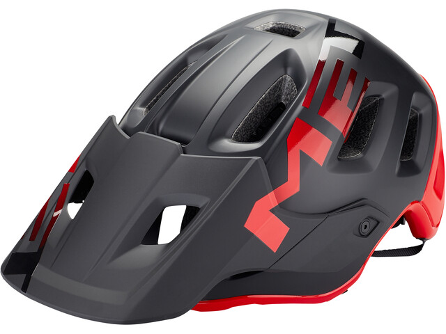 MET Roam Helmet matt black/red
